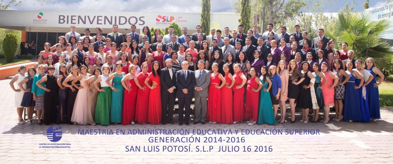 Generación 2014-2016 (Maestrías)